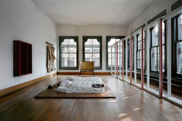 Donald Judd's loft at 101 Spring St, New York