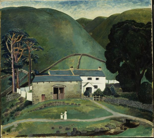 Farm at Watendlath (1921) by Dora Carrington, courtesy of the Tate/Art Everywhere