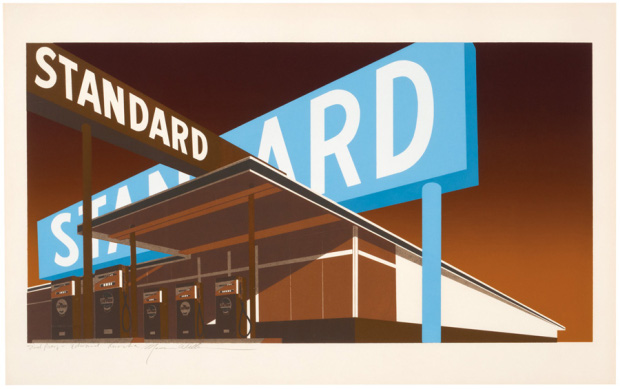 Double Standard (1969) by Ed Ruscha