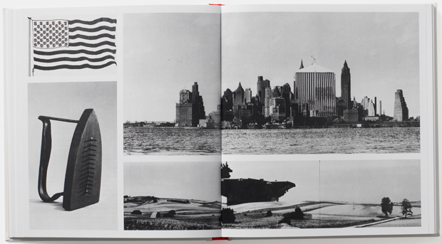 A spread from Michael Bierut's newly redesigned edition of George Nelson's book How to See