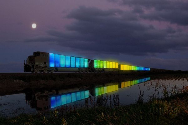 Doug Aitken's specially commissioned Station to Station train