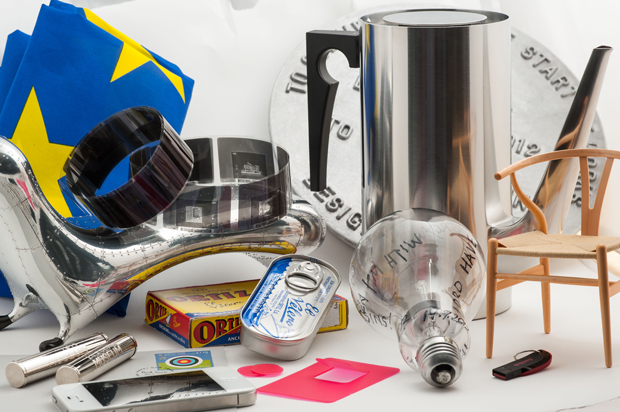 Objects included in The Design Museum's time capsule