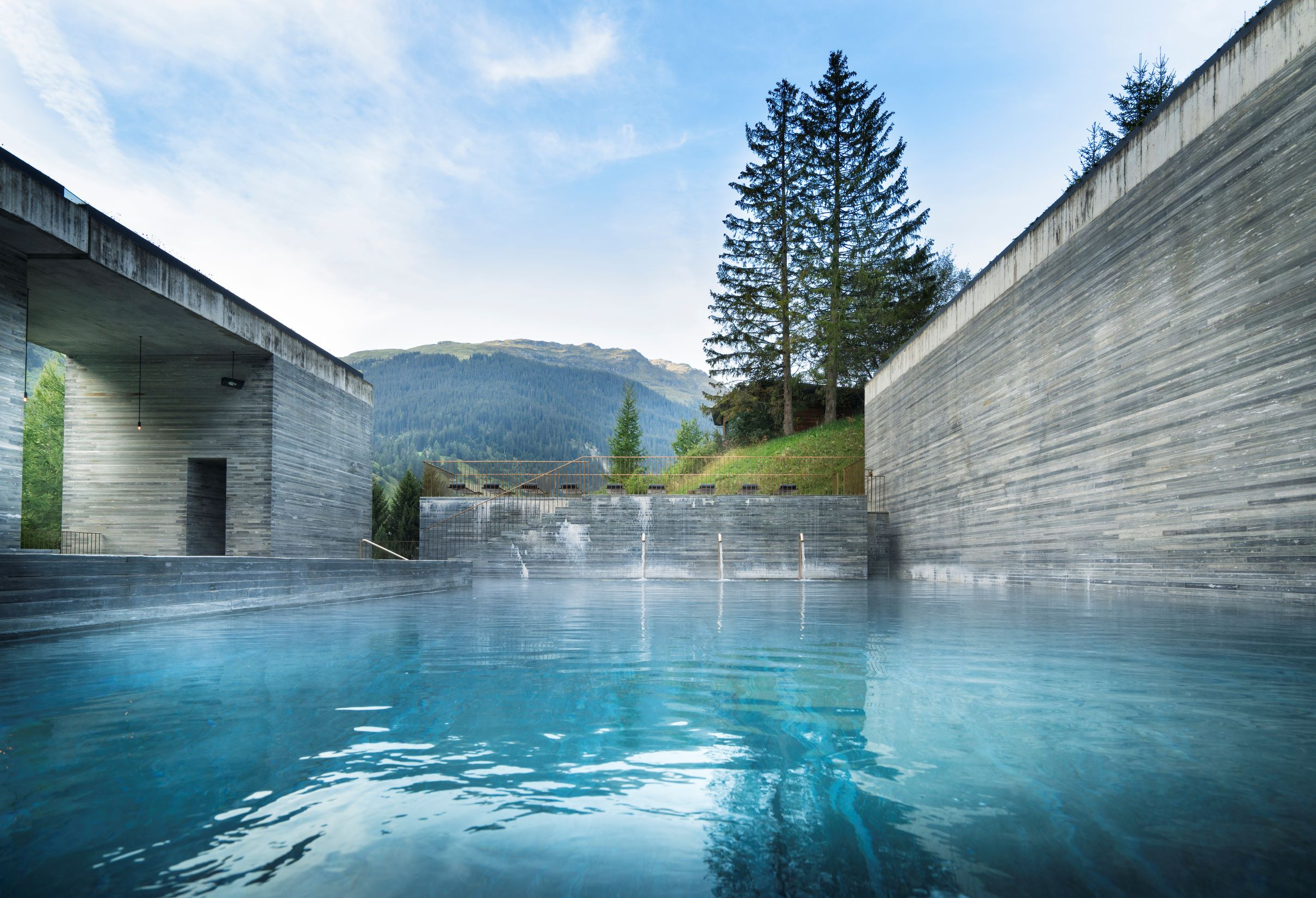 7132 Thermal Baths (formerly Therme Vals), 7132 Hotel, Vals, Switzerland