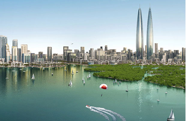 World's tallest twin towers will go up in Dubai
