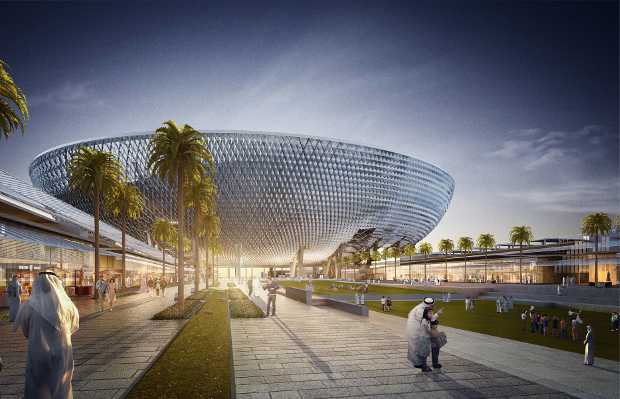A stadium to keep sports stars and fans cool in Dubai