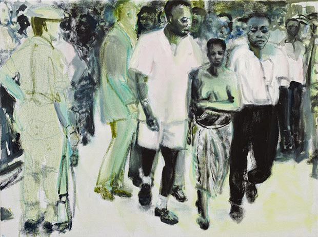 The Widow (2013)  - Marlene Dumas, courtesy Tate Britain and Defares Collection