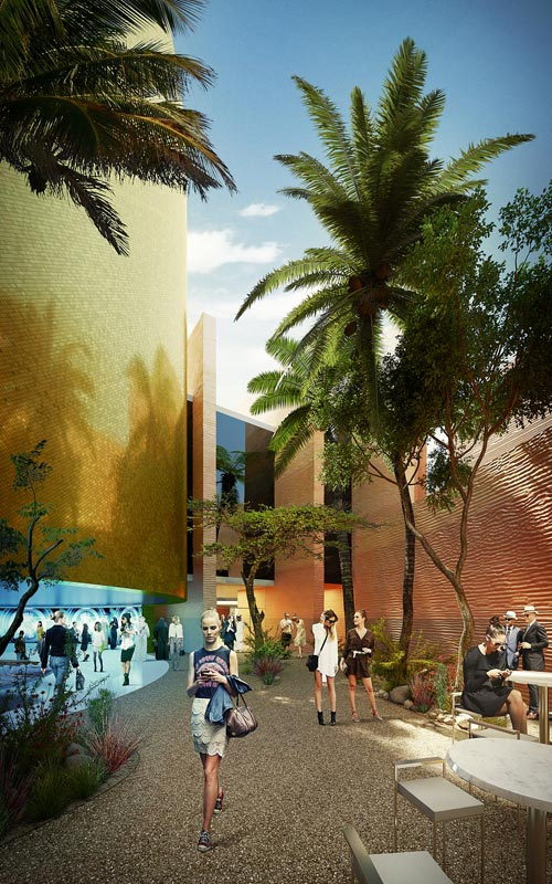 Foster + Partners' designs for the United  Arab Emirates pavilion at the Milan Expo