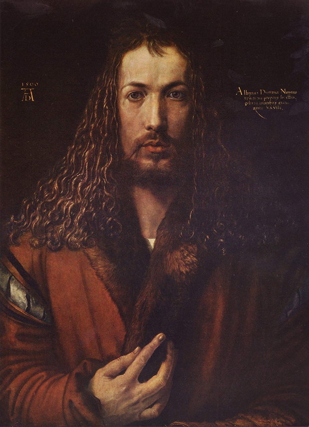 Self portrait (1500) by  Albrecht Dürer