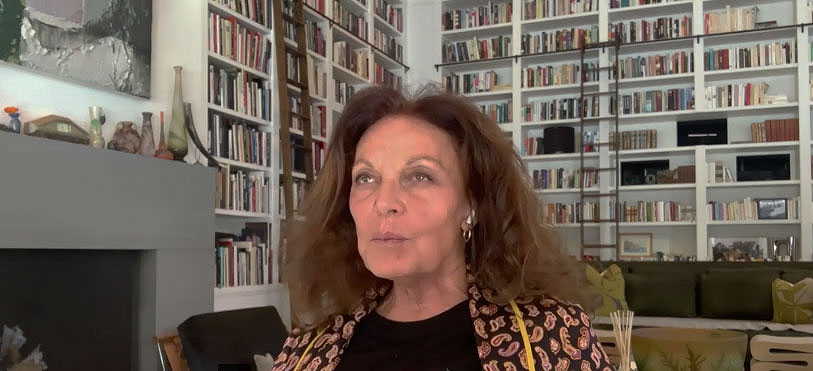 Diane von Furstenberg recalls meeting The Beatles, Jackie O and the Queen