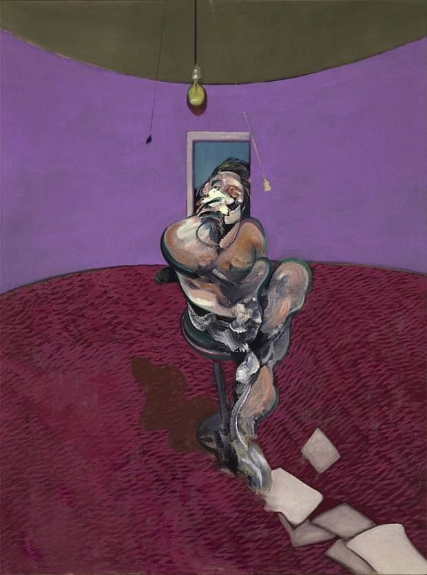 Portrait of George Dyer Talking (1966) by Francis Bacon