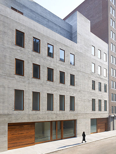 David Zwirner 537 West 20th Street by Selldorf Architects. Image courtesy of Selldorf Architects