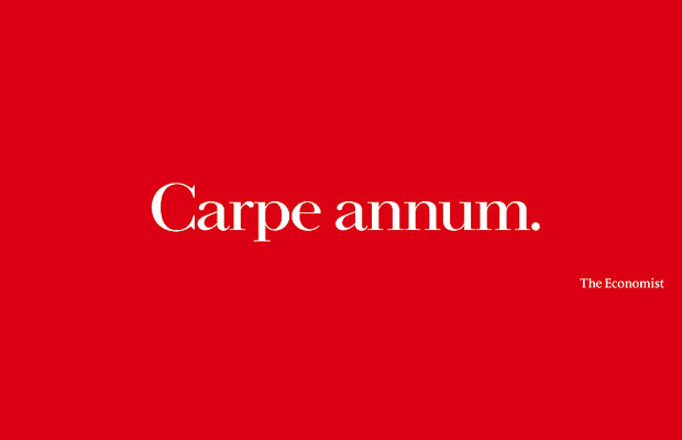 Abbott Mead Vickers BBDO, Carpe Annum, The Economist