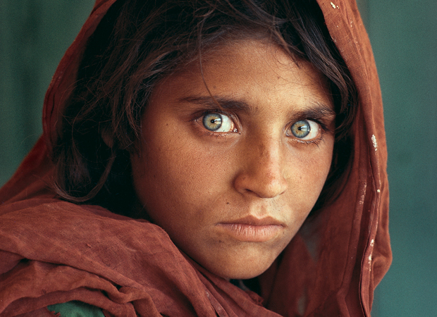 Afghan Girl, Peshawar, Pakistan, 1984, by Steve McCurry