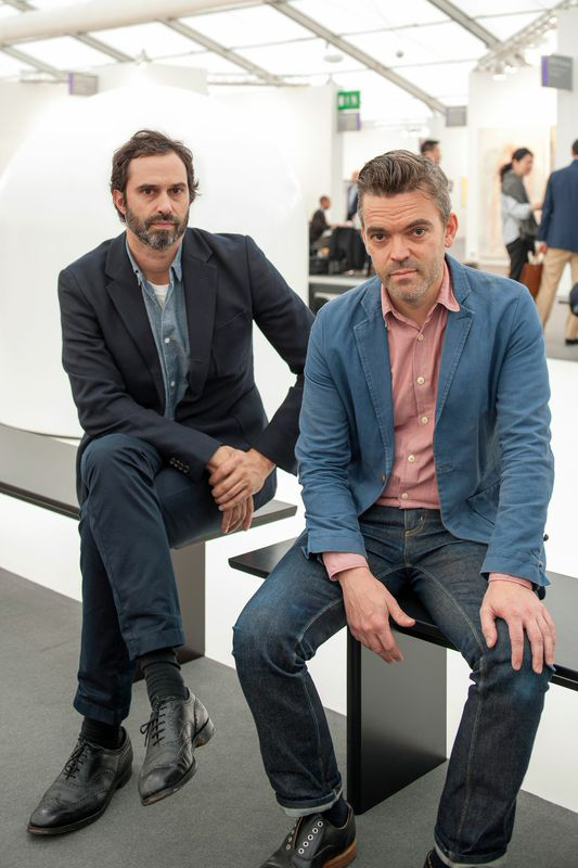 Edward Barber of Barber & Osgerby and Jason Holley, director of Universal Design Studio