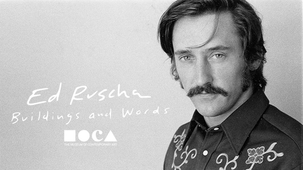 Ed Ruscha, as featured in MOCA's new documentary