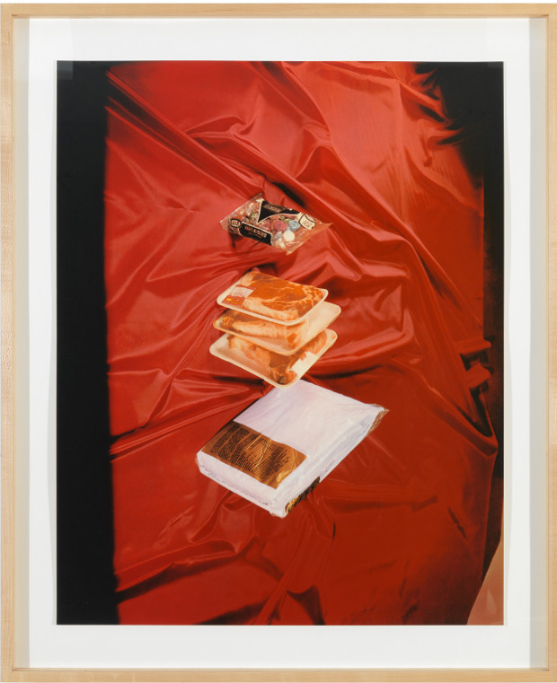 Sweets, Meats, Sheets (1975) by Ed Ruscha. From Tropical Fish. © Ed Ruscha. Courtesy Gagosian Gallery.