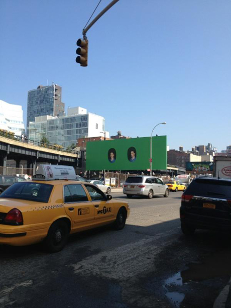 Elad Lassry on the Highline