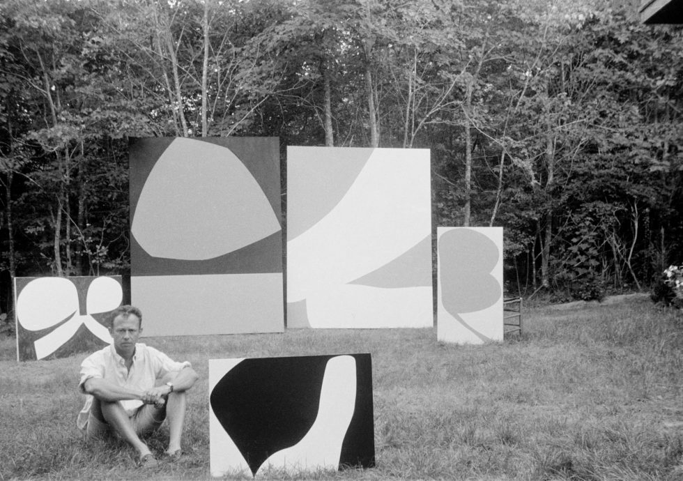 When Ellsworth Kelly upsized in the Hamptons
