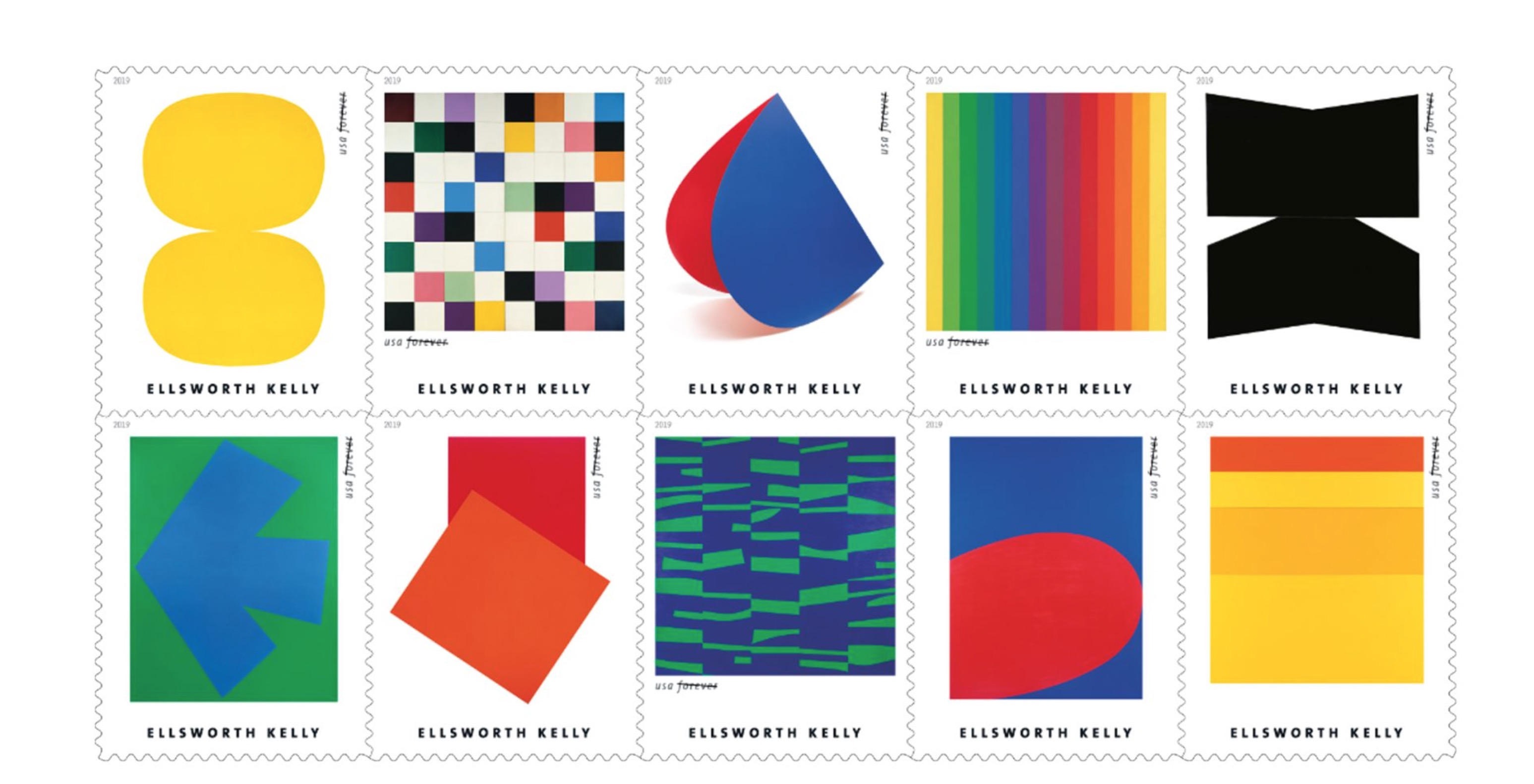 Here's your chance to own an Ellsworth Kelly for just 55 cents