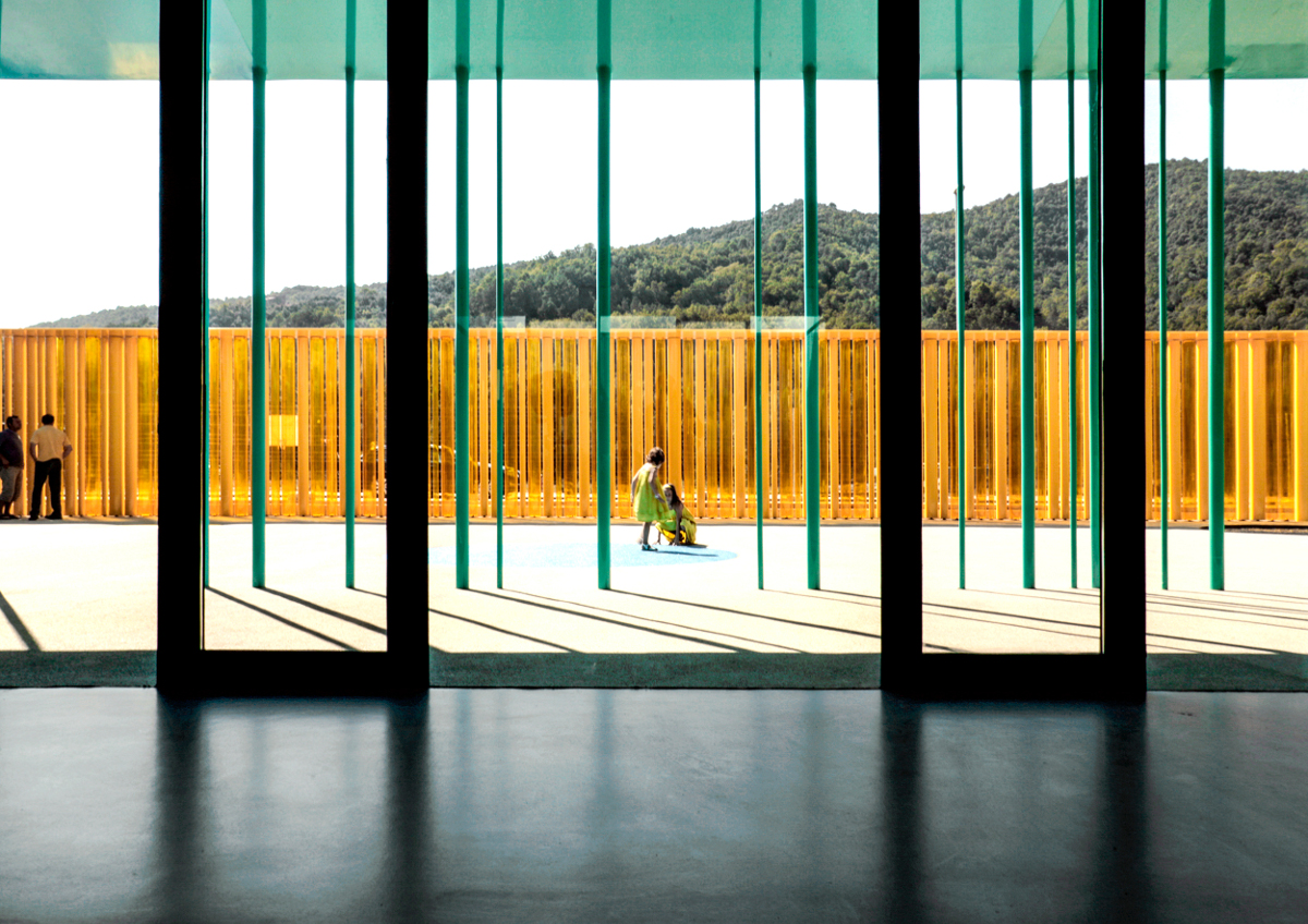 El Petit Comte Kindergarten, 2010, Besalú, Girona, Spain In collaboration with J. Puigcorbé. Photo by Hisao Suzuki