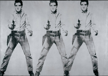 Triple Elvis (1963) by Andy Warhol