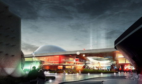 Emmen Theatre Plaza - Henning Larsen Architects