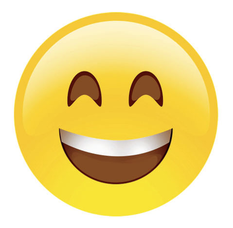 Smile emoji, as published in California: Designing Freedom