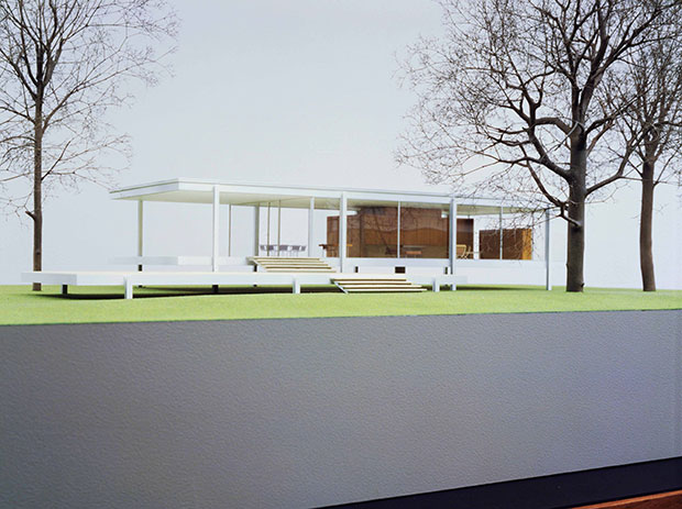 Farnsworth House (1945-51) by Mies van der Rohe