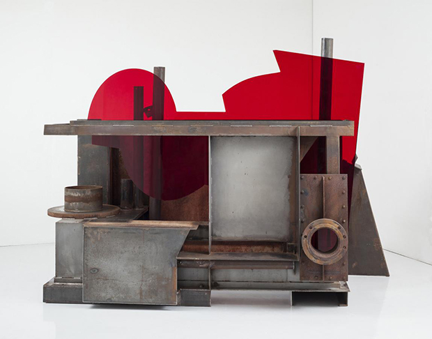 The new material in Anthony Caro's last show