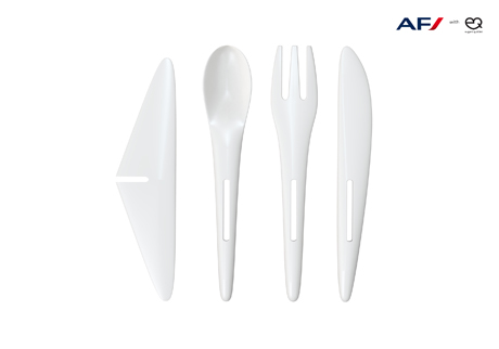Eugeni Quitllet's new cutlery for Air France