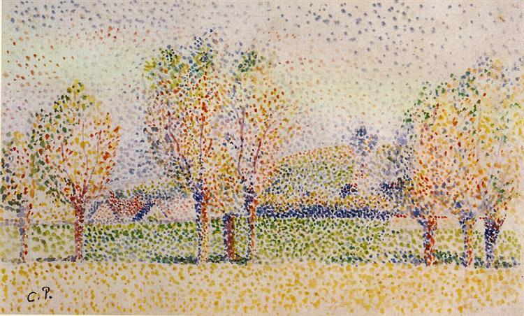 a movement in a moment pointillism art agenda phaidon