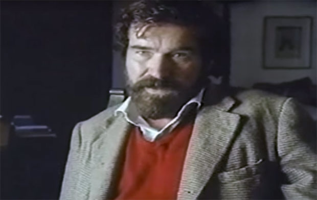 Hebborn in a 1991 TV documentary