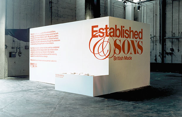 Installation view, Salone Internazionale del Mobile (2006)