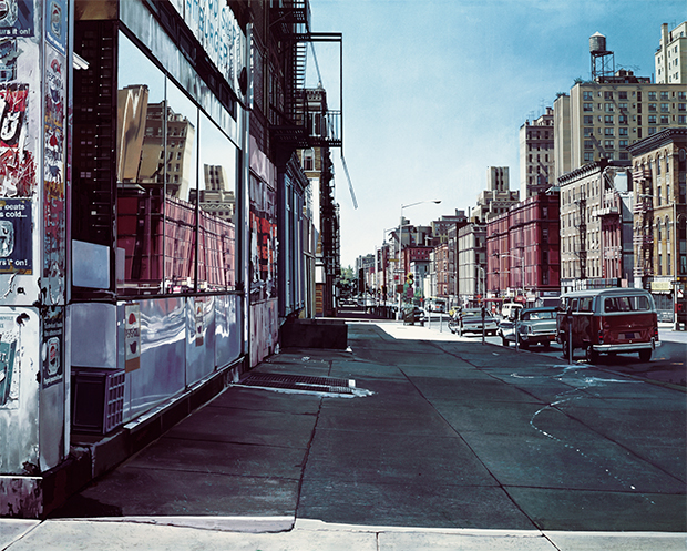 Columbus Avenue at 90th Street (1974) by Richard Estes