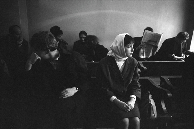 Divorce in Moscow, 1966 by Eve Arnold