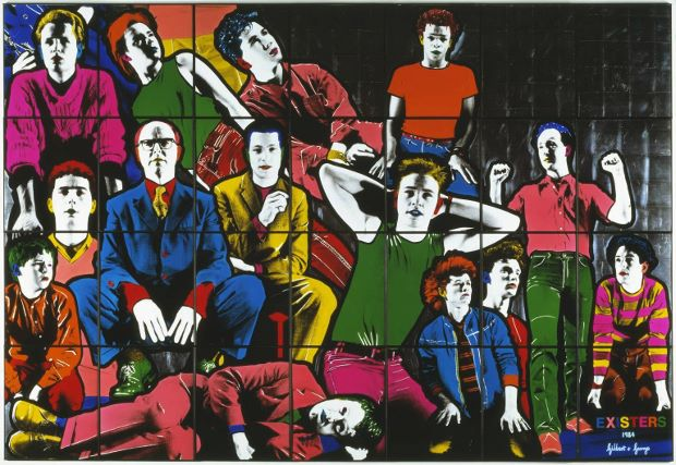 Existers (1984) by Gilbert & George, courtesy of the Tate/Art Everywhere