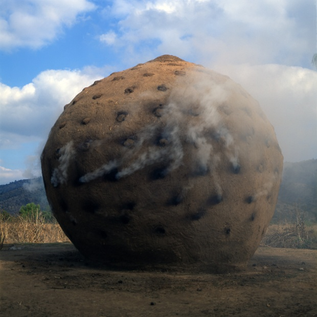 Extension to the charcoal-burner's hut, 1998, Santa Rosa, Chile, by Smiljan Radic