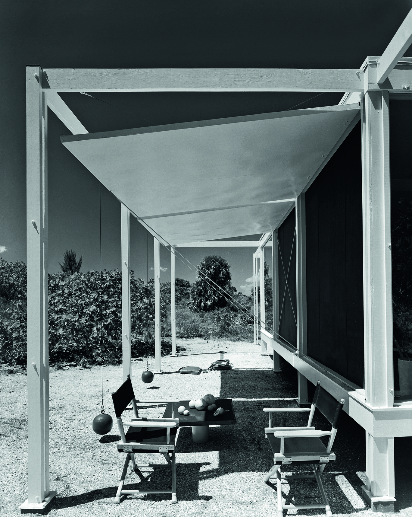The Walker Guest House by Paul Rudolph,(1953) Sanibel Island, FL 1953, Ezra Stoller/Esto