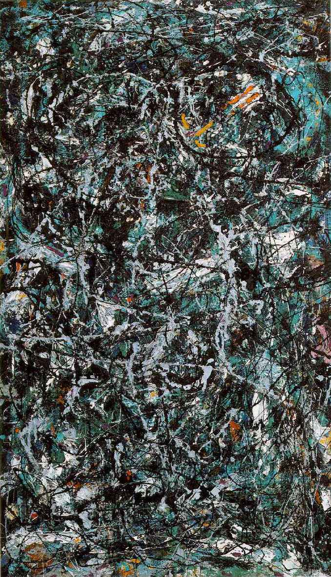 Full Fathom Five (1947) by Jackson Pollock. As reproduced in Body of Art