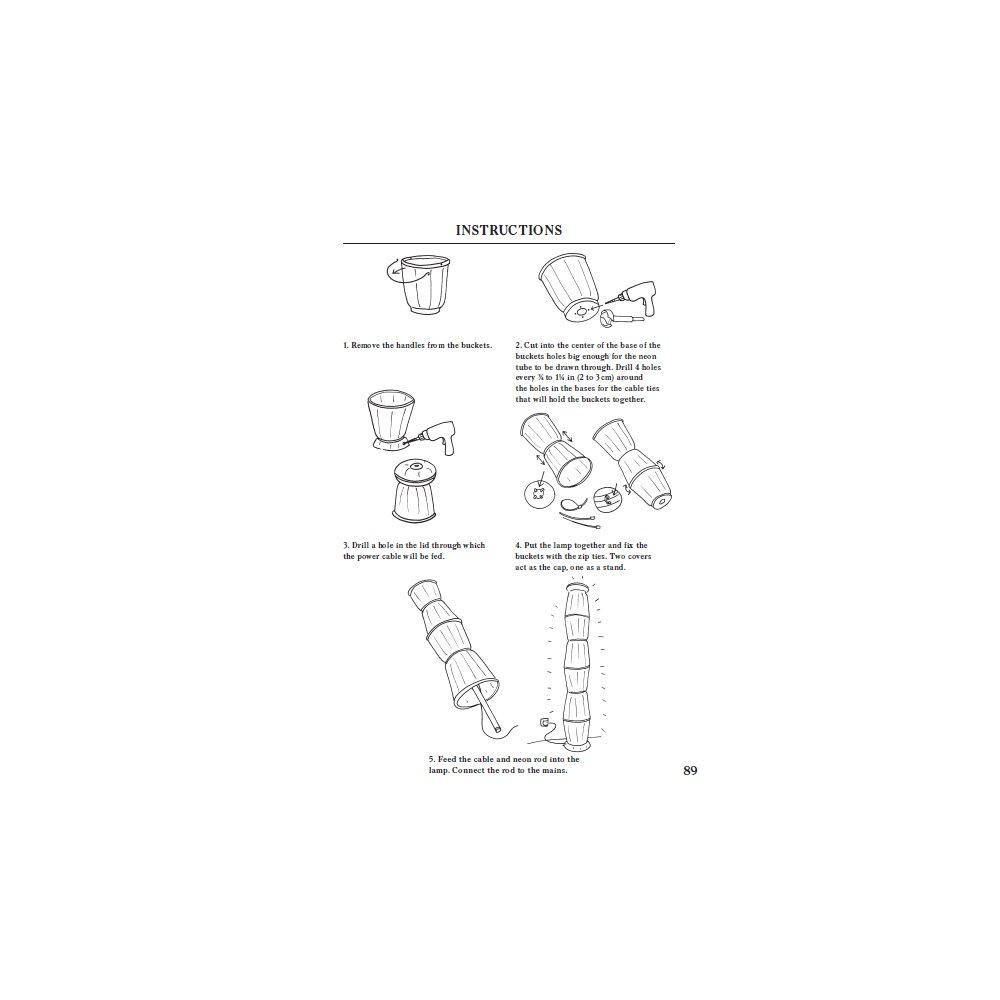 Designer diy with ross lovegrove design agenda phaidon the instructions for lovegroves fatto di giorno floor lamp as reproduced in do it yourself solutioingenieria Image collections