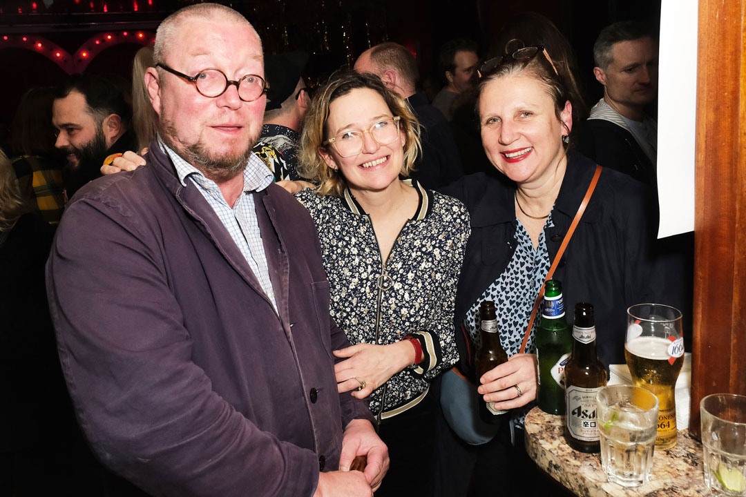 Fergus Henderson (left) Alethea Palmer (centre) and Angela Angela Hartnett (right)