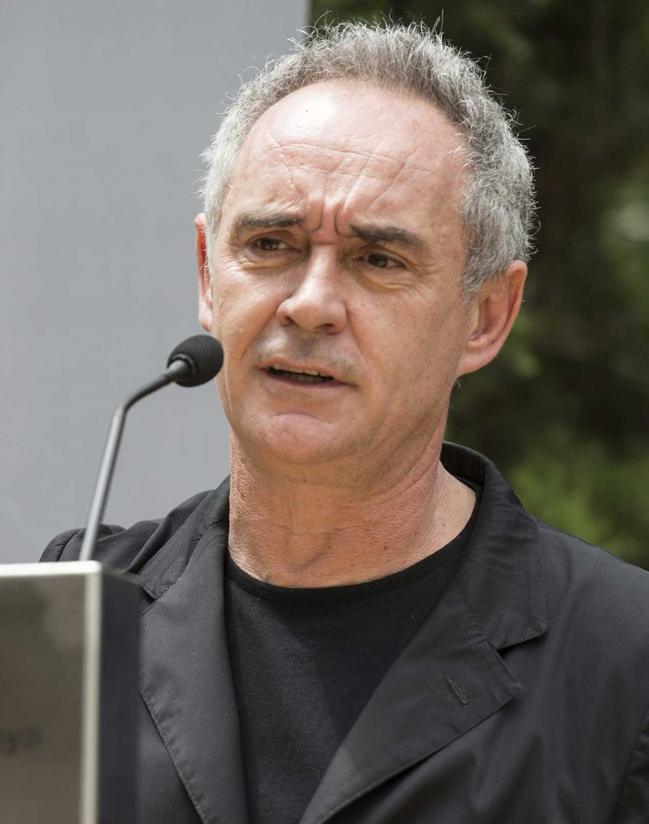 Ferran Adrià - photo courtesy Wiki Commons
