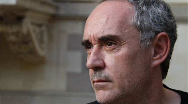 Ferran Adrià - do not seat him near a 'closetalker'