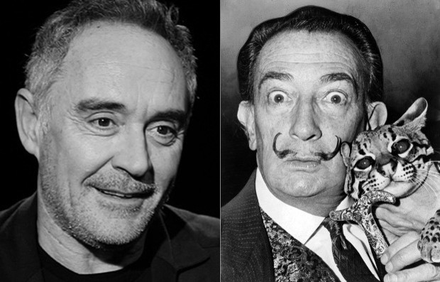 Ferran Adrià and Salvador Dalí go on show together