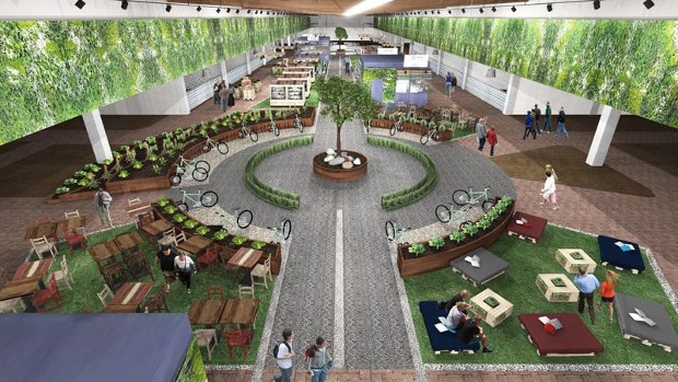 A rendering of FICO Eataly World