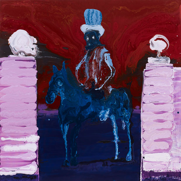 Genieve Figgis Gentleman on a Horse, 2015 Courtesy of the Artist and Almine Rech Gallery Photo: Prudence Cuming Associates Ltd