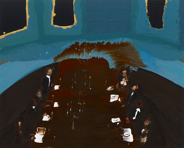 Genieve Figgis Dinner, 2015 Courtesy of the Artist and Almine Rech Gallery Photo: Prudence Cuming Associates Ltd
