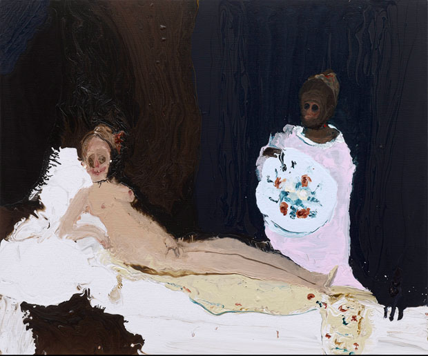 Genieve Figgis Olympia, 2015 Courtesy of the Artist and Almine Rech Gallery Photo: Prudence Cuming Associates Ltd