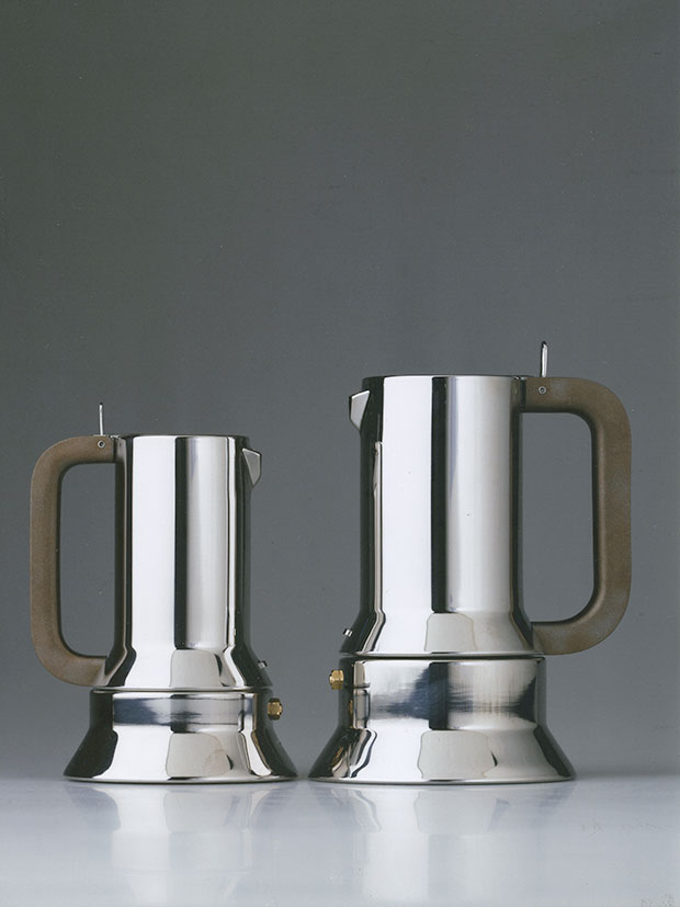 Stovetop Espresso Maker 1990 for Alessi - Richard Sapper