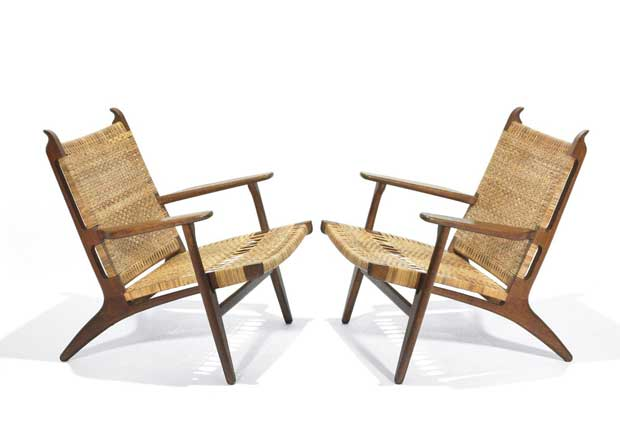 Easy Chairs   Hans J Wegner